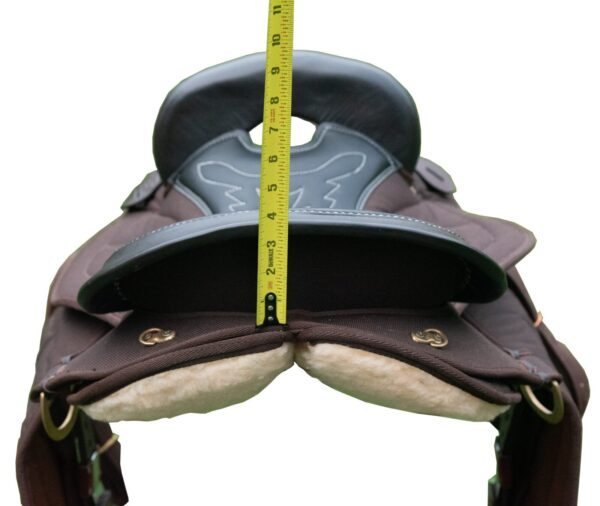 Endurance Quilted Synthetic Gaited Saddle